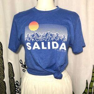Salida Colorado Graphic T-Shirt Sz Small